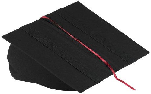 Klein & More Buchstütze Leselotte schwarz Lesekissen für bequemes Lesen, Baumwolle