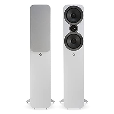 Q Acoustics 3050i Floorstanding Speakers (Pair) (Arctic White) from Q Acoustics