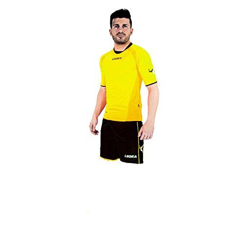 LEGEA Kit Cartagena Ensemble Football Homme, Giallo Fluo, FR : S (Taille Fabricant : S)