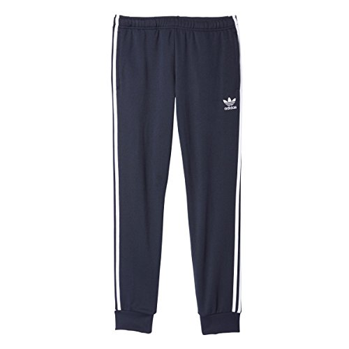 adidas Originals Men's Bottoms Superstar Cuffed Track Pants, Legend Ink, X-Large