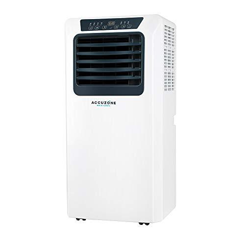 ACCUZONE Maxicool 11,000 BTU (SACC 6,000 BTU) Portable Air Conditioner 3-in-1 AC Portable, Dehumidifier, Fan for Rooms up to 350Sq ft.