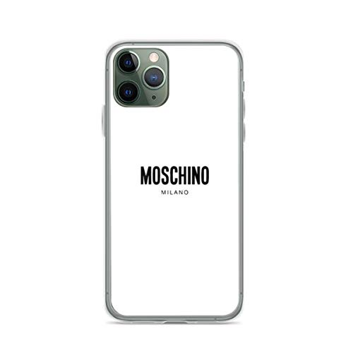 Phone Case Mos-chi-no Milano Merchandise Compatible with iPhone 6 6s 7 8 X XS XR 11 Pro Max SE 2020 Samsung Galaxy Accessories Bumper Funny