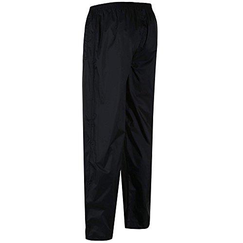 Regatta Men's Pack It Waterproof Over Trouser, Black, Medium