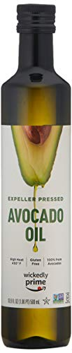 Wickedly Prime 100% Pure Avocado Oil, Expeller Pressed, Non-GMO, Gluten Free, 500 mL