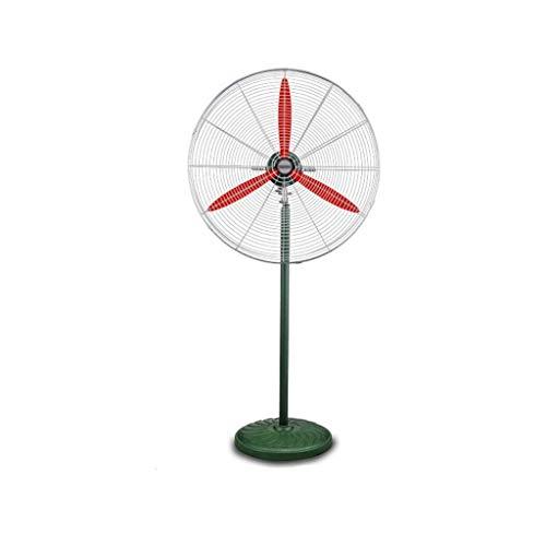 FSJD Ventilador eléctrico Industrial, Motor de Cobre Puro Ventilador de Pedestal Grande Ventilador de Piso oscilante con Base metálica Adecuado para Uso en fábrica de cantinas 140 * 70CM