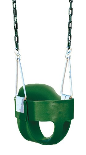 Bucket Toddler Swing with Chains