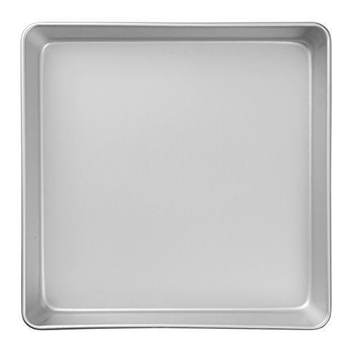 Wilton Performance Pans Aluminum Square Cake and Brownie Pan, 2.156 in. L x 13.005 in. W, 12.988 in. H