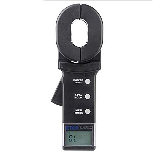 Erdungsmessgerät für Erdungswiderstand (Digital Clamp Meter) amp mit Alarmfunktion für Datenspeicherfunktion , Widerstandsbereich: 0,01~200Ω ETCR2000A