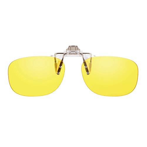 PRiSMACLiP-ONDRiVE85bluelightprotect - Brillenaufstecker -für Autofahrer und Motorradfahrer bei Tag und Nacht - CP923D