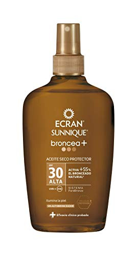 Ecran Sunnique Broncea+ Aceite Bronceador
