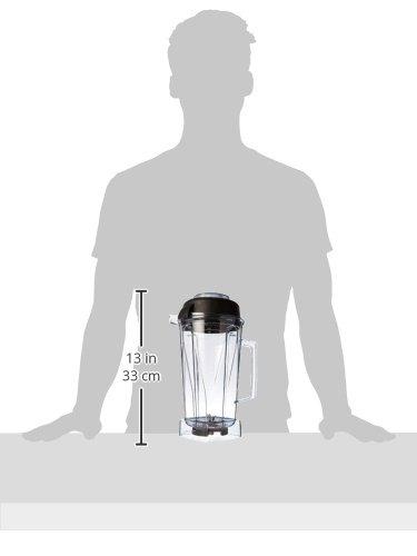 Vita-Mix-Tritan-Copolyester-Behlter-mit-Nassklinge-und-Deckel