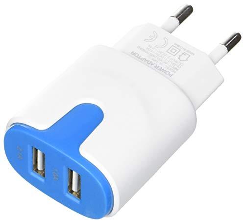 Shot Case USB-Netzadapter für Gionee Marathon M5 Plus Smartphone/Tablet, Blau