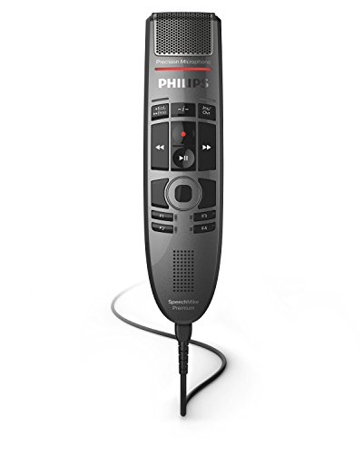 Philips SMP3700 SpeechMike Premium Touch Precision USB Microphone -...