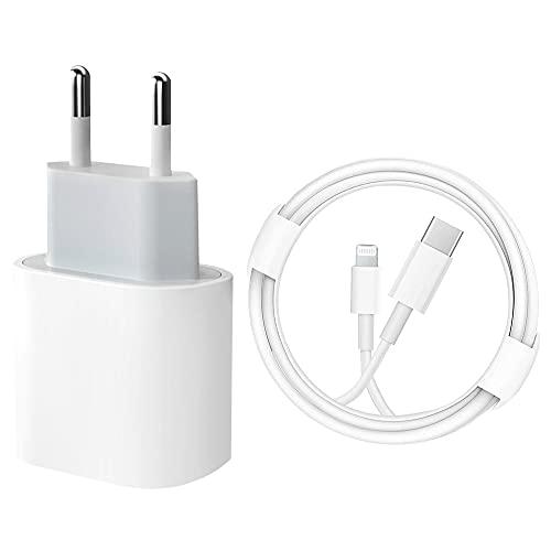 Cargador rápido para iPhone 12 【Certificado MFi】 Cargador de Pared de alimentación...