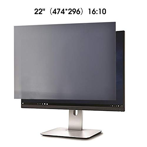 rosemaryrose 21-24 Zoll Desktop-Computer-Monitor Universeller Datenschutzfilter - Anti-Blau-Film-Displayschutz 30 ° Anti-Sneak Peek 100 Anti-Blau-Augenschutzfilm LCD-Schutzfilm-