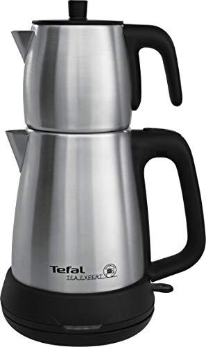 Tefal Tea Expert Teekanne aus Glas zur Zubereitung von Tee 1,8 L 1650 W Silber