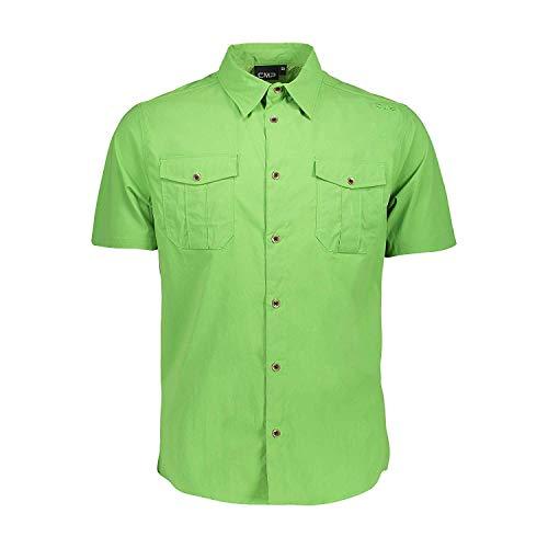 CMP Chemise Un Shirt Vert Imperméable Respirant Élastique Antibactérien - E626 Edera, 50
