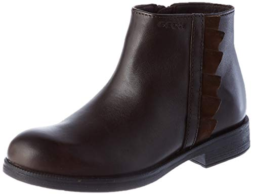 Geox JR Agata D Ankle Boot, Brown (Coffee), 34 EU