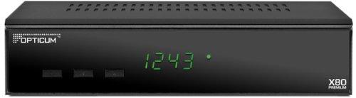 Opticum X80 Premium digitaler Satellitenreceiver (DVB-S, Scart, RS232, Audio L/R)