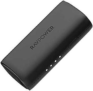 RAVPower RP-PB168-BK Portable Power Bank 3350mAh with iSmart QC - Black (Pack of 1)