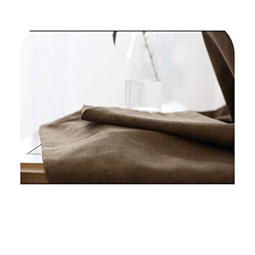 Curtan - Cortinas opacas de lino falso y espuma de la espalda...