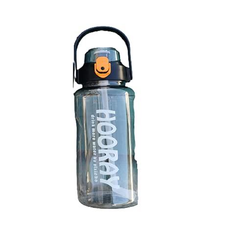 Kalami Botella de agua de 1500 ml. Tu botella de agua deportiva adecuada para gimnasio, fitness, bicicleta, niños, escuela y oficina libre de BPA.