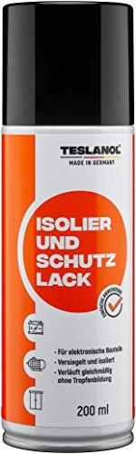 Teslanol 26027 Isolier- und Schutzlack zum Versiegeln und Isolieren von elektronischen Bauelementen - 200 ml