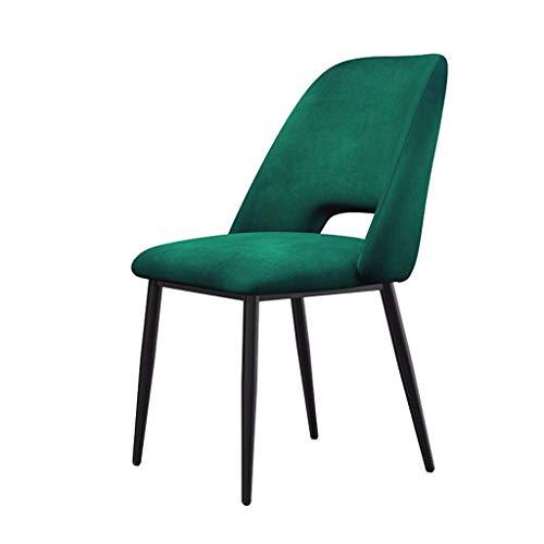 YANYDO Eetkamerstoel Lazy Lounge stoel stoel stoel Iron Art make-up stoel koffie stoel