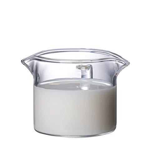 Tings Espressokop Glas Koffiekopje Hittebestendig Glas Maatbeker Oz IJskoffiekop Latte Cup voor koffiemachines, Tepelkop
