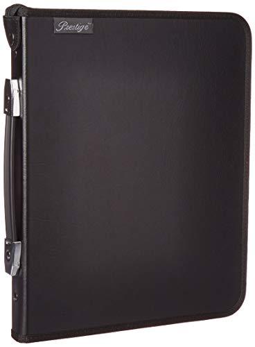 Alvin, Elegance Series Ergonomic Presentation Case, Multi-Ring Design with Hidden Zipper - 8.5-inches x 11-inches