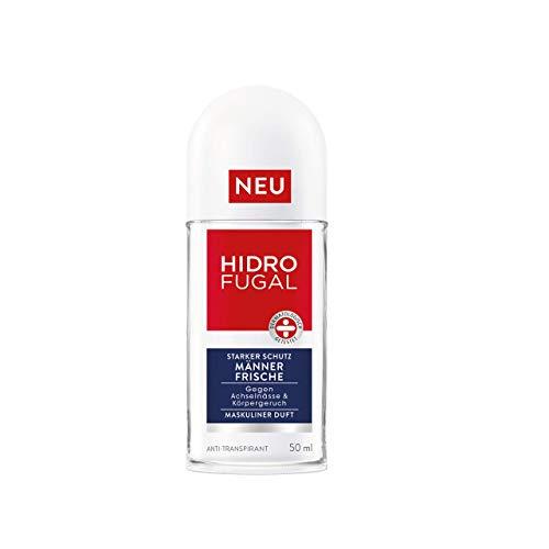 Hidrofugal Männer Frische Roll-on, Deo-Roller mit maskulinem Duft, Anti-Transpirant gegen Achselnässe, 1er-Pack (1 x 50 ml)