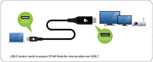 IOGEAR USB-C to DisplayPort 8K Cable (6.Feet/2 Meter)