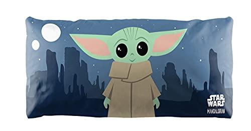 The Mandalorian Baby Yoda - Funda de almohada (50,8 x 137,2 cm)