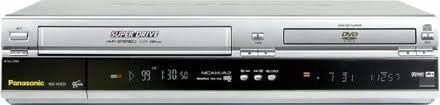 PANASONIC Kombi-DVD-Player und Videorecorder Player, NV-VHD1