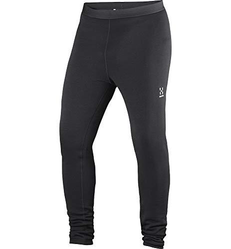 Haglöfs Funktionsunterwäsche Herren Skiunterwäsche Bungy Tights Wärmend, Atmungsaktiv, Elastisch True Black L L
