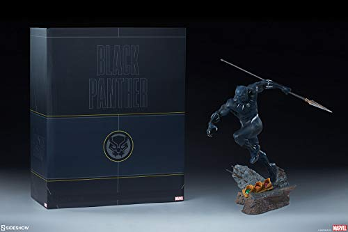 Sideshow Collectibles Marvel Avengers Assemble Black Panther 1/5 Scale Statue image