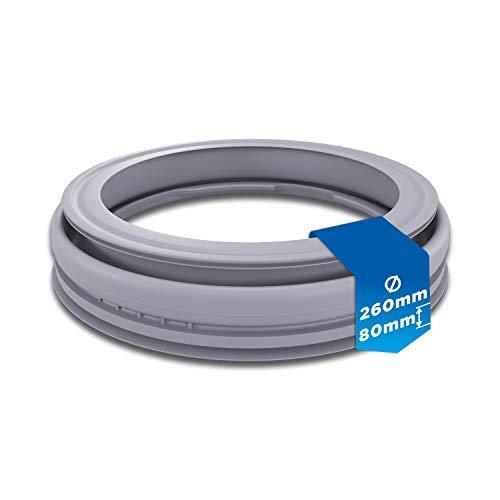 Guarnizione in gomma di ricambio per Bosch 00667220 Guarnizione porta manicotto in gomma gomma guarnizione porta caricatore frontale per lavatrice Bosch.