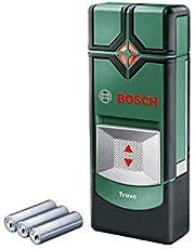 Bosch Home and Garden Opspoorsysteem Truvo (Voor Metaal & Stroomdraden, 70/50 mm Detectiediepte, Incl. 3x AAA-Batterijen), Groen