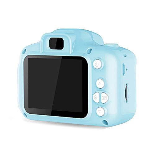 ZYLFN Videocamera Digitale per Bambini da 3 a 8 Anni, Mini Action Cam per Bambini Videocamere per Bambini HD da 8 MP Antiurto Videocamera per Bambini (Scheda di Memoria da 16 GB Inclusa),Blu