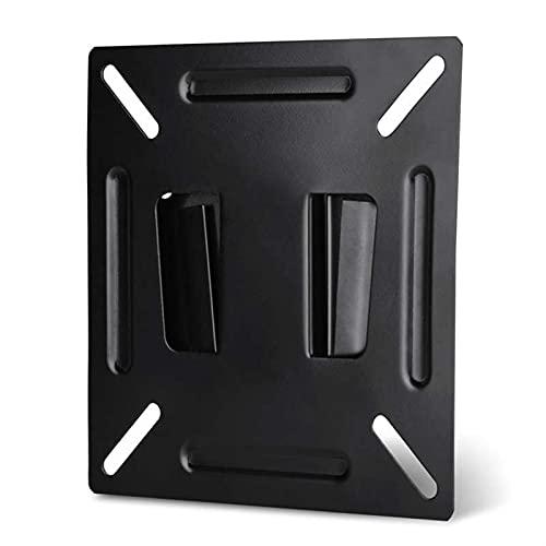 FJZFXKZL Soporte TV para LCD LED TV Monitor TELEVISOR Soporte de la Pared del Soporte del Soporte del Soporte para el Soporte Premium 12-24 Pulgadas Plano Televisión Panel Accesorio Metal