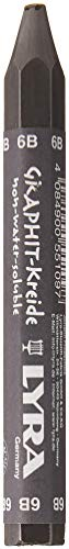 Lyra Graphite Crayon - Individual Stick - 6B