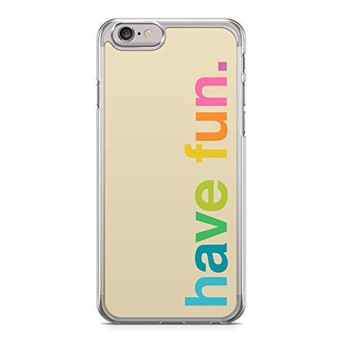 Funda Carcasa Frases Humor para iPhone 6 Plus 6PLUS plástico rigido Funny Quotes