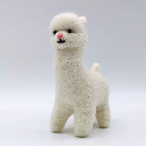 Artec360 Alpaca Needle Felting Kits for Beginners with Enough Accessories 1.2x3x4 inch