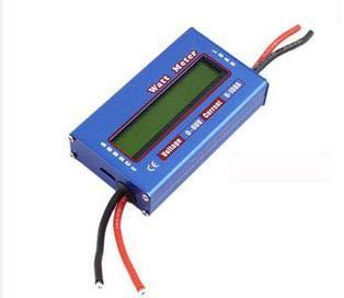1Pc/lot RC Digital Wattmeter Watt Meter Power Meter Checker DC 60V 100A Balance Voltage Battery Checker Watt Volt Amp Meter