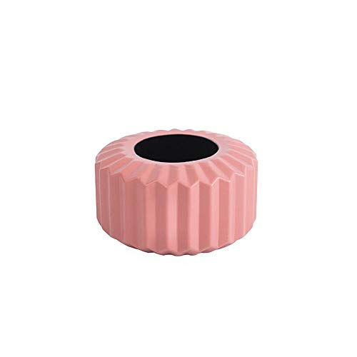 ZXHW JarronesVaso di Fiori moderni Vaso domestico Flower Disposizione Soggiorno Origami Plastica Plastica Stile Nordico Decorazione Domestica Ornamento Home Decor Vendita calda-3508 Rosa.
