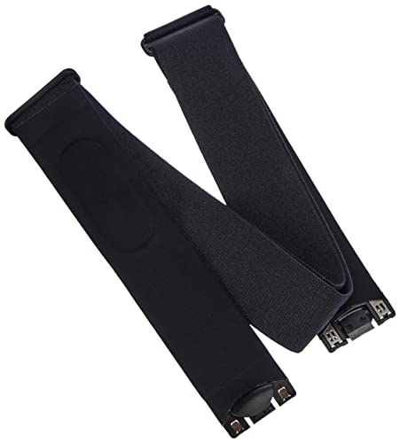 Suunto - Comfort Belt Strap Black - Correa textil para módulo frecuencia cardiaca- Color negro - Talla S/L ✅