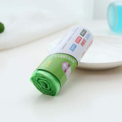 LITT Müllsack Umweltschutz Müllsack Haushaltsreinigungswerkzeuge 1 Rolle 100 Stück Abfallmüll Müllsäcke Küche Toilette verwenden