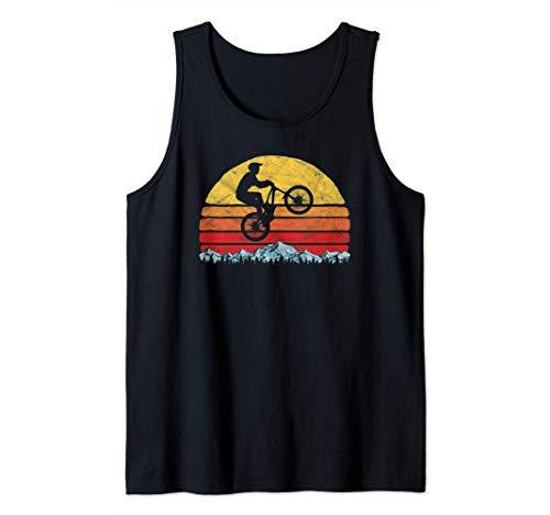 Vintage Mountain Bike, Rocky Mountains & Sun MTB 80s Vibe Débardeur