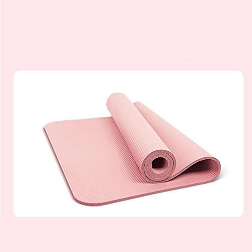 Esterilla de yoga antideslizante de 182 x 60 cm x 10 mm de grosor, para ejercicio saludable, para bailar, para el hogar, sin olor