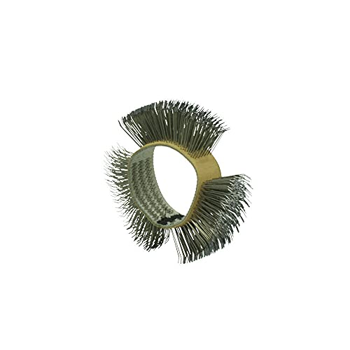 Dent Fix Wire Bristle Replacement Brush Wheel Medium ,0.5 Wire, Bent,Universal fit, 23mm hub,Zip Eraser Decal Removing Tool,